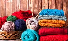Les équipements pour tricoter